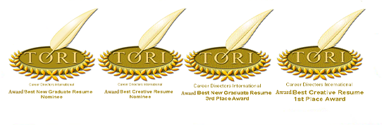 resume writers awards