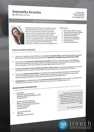 Resume Example Australia Legal Resume