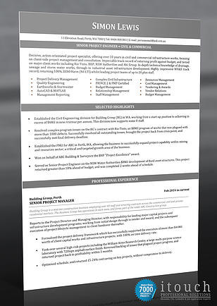 Resume Examples Australia - Financial Analyst