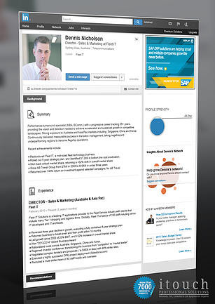 LinkedIn Profile Example Australia